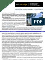 De Los Conocimientos Previos a La Adquisición de Aprendizajes Significativos… Leyendo Artículos de Divulgación Científica