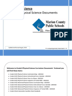 Grade 8 Physical Science Curriculum Documents2010