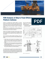 En - Analysis of Ship to Fixed Offshore Platform Collision