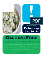 gluten-free meal poster