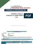 PRIMERA UNIDAD DE APRENDIZAJE DE ARTE 2016.docx