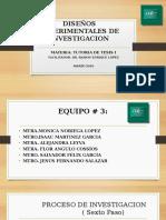 p.p. Diseños Experimentales de Investigacion