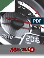 Catalogo Maxauto 2016