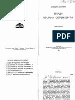 Слободан Јовановић - Влада Милана Обреновића II