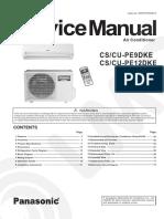 Panasonic Inverter s Pe9 12dke