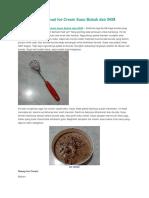 Resep Cara Membuat Ice Cream Susu Bubuk Dan SKM