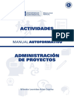 A0007 MA Administracion de Proyectos ACT ED1 V1 2015