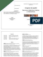 Invitacin Congreso de Espaol