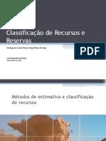 06_Metodos de Estimativa e Classificacao