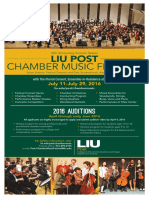 Liu Post Chamber Music Festival 2016 FINAL