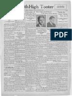 October 31, 1930 - SHS Tooter