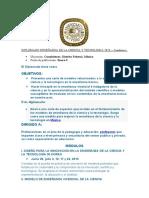 DIPLOMADO ENSEÑANZA DE LA CIENCIA Y TECNOLOGIA 2010