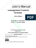 management control systems 1 2 sarbanes oxley act strategic
