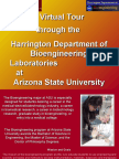 LAB TOUR-BME at Arizona State University
