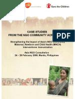 Case Studies From NGO Community Across Asia