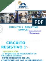 Circuito Resistivo Simple