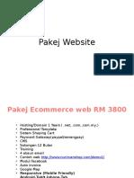 Pakej Website