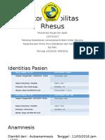 Inkompatibilitas Rhesus Referat