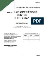 NTTP 3-32.1 Apr 2013 Maritime Operation Center