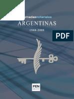 Jornadas Notariales Argentinas 1944 2008