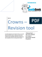 Crowns Revision Tool