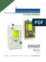 Impact 731 Vent Service Manual