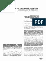 LA EXCEPCIONES EN EL PROCESL CIVIL.pdf