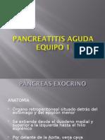 Páncreatitis aguda