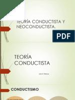 Teoría Conductista y Neoconductista - Copia