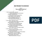 Watchtower Hymns