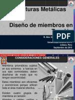 ESTRUCTURAS METALICAS - Diseño de Miembros en Tension.