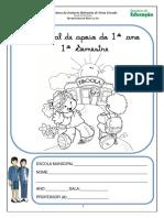 Caderno de atividades -1º ANO - 1º Semestre