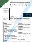 NBR 09649 - Projeto de Redes de Esgoto