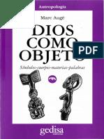 AUGÉ.dios Como Objeto