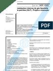 NBR 13932 - Instalacoes Internas de Gas Liquefeito de Petroleo (Glp) - Projeto E Execucao