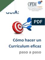 Guía - Cómo Hacer Un Currículum Eficaz