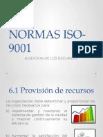 Normas Iso-9001 Punto 6