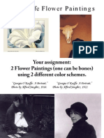 O'Keeffe Flower Paintings