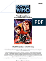 Dr. Who - The Eighth Doctor 61 - The Dying Days
