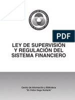 Ley de Supervisión y Regulación Del Sistema Financiero (1)