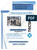 Informe 5 Mantenimiento de Subestacion Completar XDXDXDXD