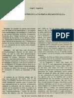 El sueño y los sueños en la filosofia Prearistotelica