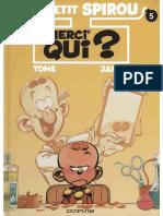 Le Petit Spirou T05 - Merci Qui