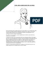 Biografía Del Inca Garcilaso de La Vega