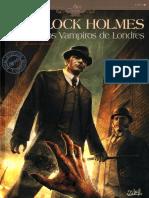 COMIC - Sherlock Holmes - Los Vampiros de Londres