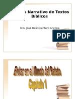 Analisis Narrativo De Textos Biblicos