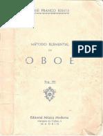 110618788 Franco Ribate Jose Metodo Elemental de Oboe
