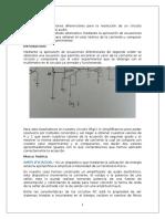 Amplificador con ecuaciones diferenciales