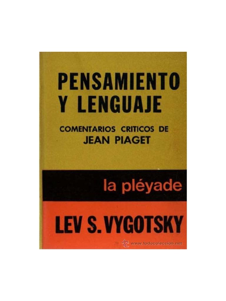 Vigotsky, Lév Semiónovich - Pensamiento Y Lenguaje ... @tataya.com.mx