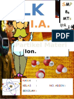 LKS Kimia SMP Partikel Materi Atom Ion M